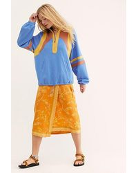Free People Colour Me Rad Pullover - Blue
