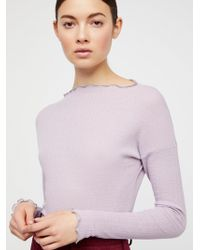 Free People - Look Out Layering Top - Lyst