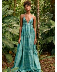 Free People Marisol Maxi Dress - Blue