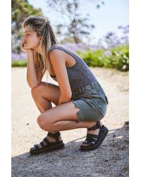 Free People Dr. Martens Blaire Flatform Sandals - Black