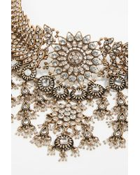Free People - New Rules Statement Necklace - Lyst