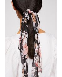 Free People - Floral Scarf Pony - Lyst