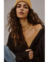 Free People Classic Chain Necklace - Metallic