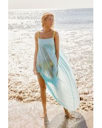Free People On My Own Maxi Slip By Intimately - Blue