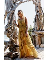 Free People Santa Maria Maxi Dress By Endless Summer - Multicolor
