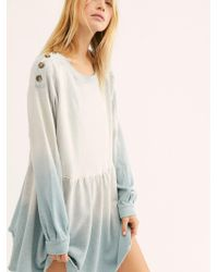 Free People - Marlena Mini Dress - Lyst