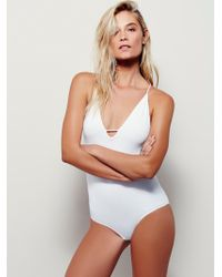 Free People Move Along Bodysuit - White