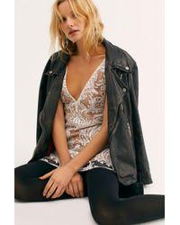 Free People - Night Shimmers Mini Dress - Lyst