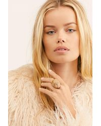 Free People Skye Stone Ring By Ayana Designs - Multicolour