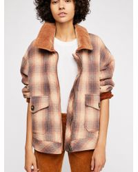 Free People - Poconos Quilted Jacket - Lyst