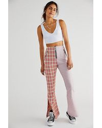 The Ragged Priest Drifter Flare Trousers - Multicolour