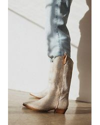 Free People Montage Tall Boots - White