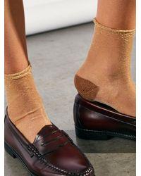 Free People Franca Ankle Socks - Brown