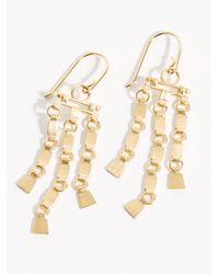 Free People Sharni Earrings - Metallic