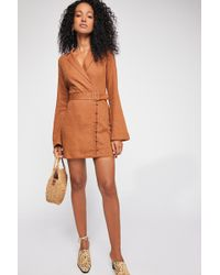 Free People - Take Me To Paradise Mini Dress By Endless Summer - Lyst