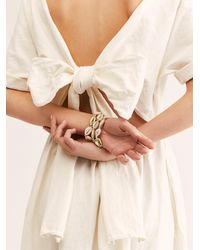 Free People - Shell Stacked Bracelet Set - Lyst