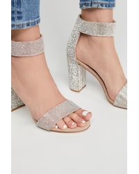 Free People Sparkle And Shine Heels By Jeffrey Campbell - Multicolour