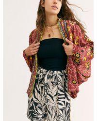 Free People - Kona Print Kimono - Lyst