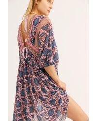 Free People - Moon Child Maxi Top - Lyst