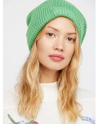 Free People - All Day Every Day Slouchy Beanie - Lyst