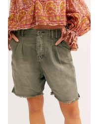 Free People Utility Harem Short - Multicolour