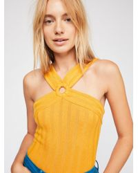 Free People - Say Please Cami - Lyst