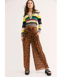 Free People Wake Up Trousers - Multicolour