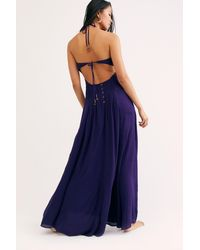 Free People Parisse Maxi Dress By Endless Summer - Blue