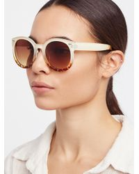 Free People - Abbey Road Sunglasses - Lyst