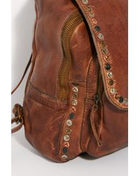 3cd974c92a0d41 Free People Sorrento Leather Backpack - Lyst