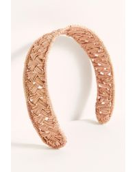 Free People Kaanas Straw Headband - Multicolor