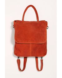 Free People We The Free Paris Convertible Backpack - Red