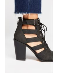 Free People Vegan Cameilla Boot By Fp Collection - Black