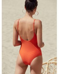 Free People - Palm Springs One-piece Swimsuit - Lyst