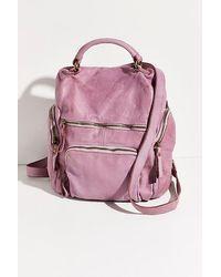 Free People Bolsa Nova Mia Backpack - Purple