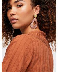 Free People - Camila Resin Earrings - Lyst