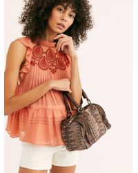 Free People Abbott Kinney Mini Satchel By Fp Collection - Brown