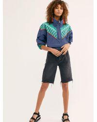 Free People Caroline Cutoff Denim Shorts By We The Free - Blue