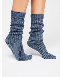 Free People - E.g. Smith Slouchy Sock - Lyst
