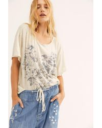 Free People Daisy Love Tee By Magnolia Pearl - White
