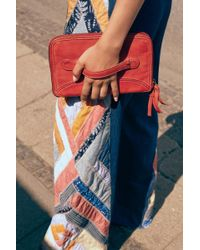 Free People We The Free Traveler Clutch - Red