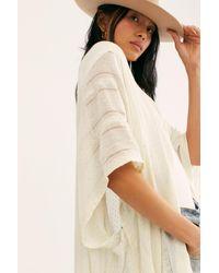 Free People Sequin Day Dream Kimono - Multicolor