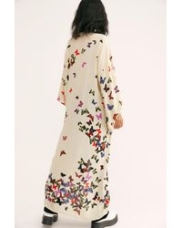 Free People Butterfly Kisses Kimono - Natural