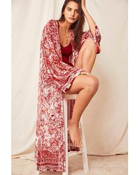 Intimately Enchanted Robe - Red