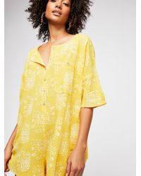 Free People - Wear Me Daily Romper By Intimately - Lyst