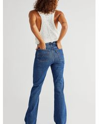 Free People Levi's Ribcage Bootcut Jeans - Blue