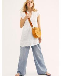 Free People River Linen Tunic By Cp Shades