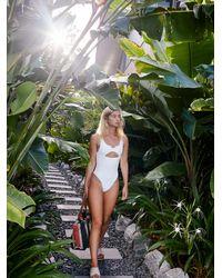 Free People Cody Swimsuit By Frankies Bikinis - White
