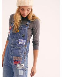 Free People - Billy Hill Overalls By Riley Vintage - Lyst
