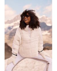 Fp Movement Pippa Packable Pullover Puffer - White